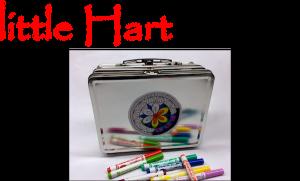 """little Hart ... igniting wonder"" image of wonder box contents"